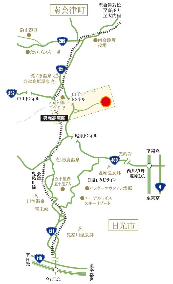アクセスマップ 道路図